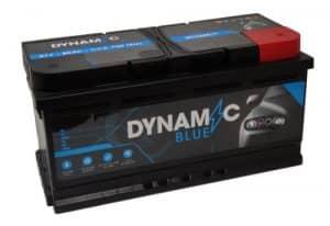 Dynamic 017 Dynamic Blue Car Battery 80ah