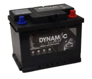 Dynamic Silver 027 Dynamic Silver Car Battery 60ah