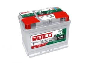 Mutlu AGM 027 Mutlu AGM Car Battery for Stop-Start Vehicles