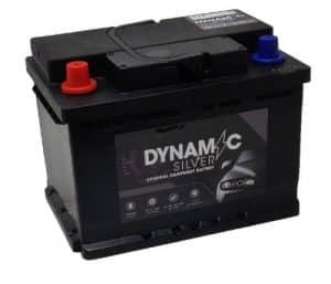 Dynamic Silver 078 Dynamic Silver Car Battery 55ah