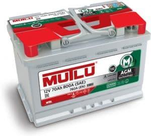 Mutlu AGM 096 Mutlu AGM Car Battery for Stop-Start Vehicles