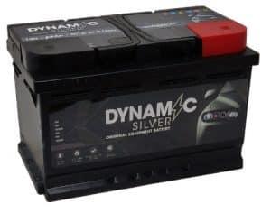 Dynamic Silver 100 Dynamic Silver Car Battery 68ah