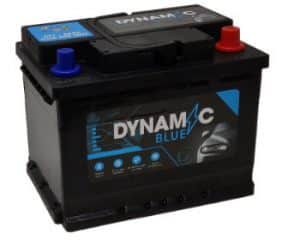 Dynamic Blue 027 Dynamic Blue Car Battery 55ah