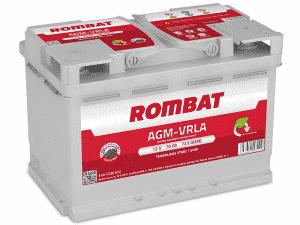 Rombat 096 Stop Start AGM Car Battery Rombat 70Ah