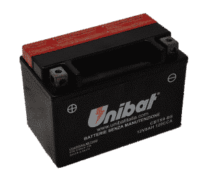 Unibat Motorcycle CBTX9BS Unibat Motorcycle Battery