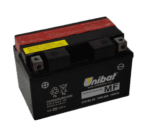 Unibat Motorcycle CTZ10S-BS Unibat Motorcycle Battery