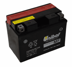 Unibat Motorcycle CTZ14SBS Unibat Motorcycle Battery