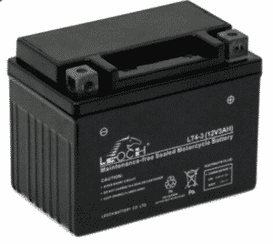 Unibat Motorcycle LT4-3 Leoch Motorcycle Battery