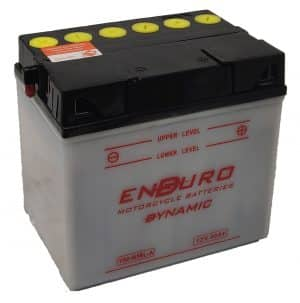 Enduroline Motorcycle Y60-N30L-A Motorcycle Battery