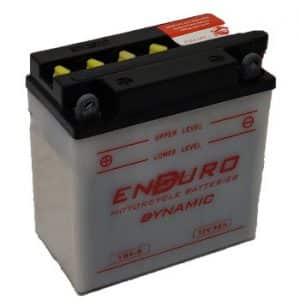 Enduroline Motorcycle YB9-B Motorcycle Battery