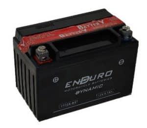 Enduroline Motorcycle YT12A-BS Motorcycle Battery