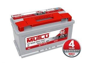 Mutlu SFB Series 2 115 Mutlu Series 2 Car Battery 80ah