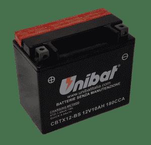 Unibat Motorcycle CBTX12BS Unibat Motorcycle Battery