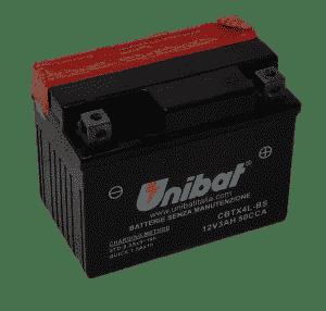 Unibat Motorcycle CBTX4LBS Unibat Motorcycle Battery