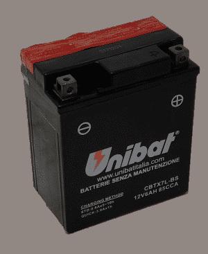 Unibat Motorcycle CBTX7LBS Unibat Motorcycle Battery