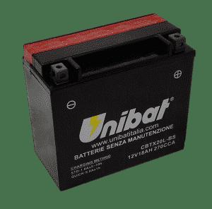 Unibat Motorcycle CBTX20LBS Unibat Motorcycle Battery