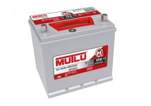 Dynamic Silver 002L Mutlu Car Battery Series 2 40ah 360CCA