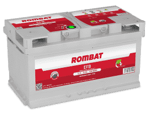 Rombat 110 Stop Start EFB Car Battery Rombat 75Ah