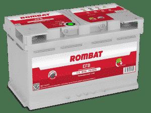 Rombat 019 Stop Start EFB Car Battery Rombat 95Ah
