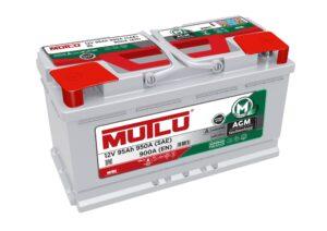Mutlu AGM 019 Mutlu AGM Car Battery 95ah 900cca