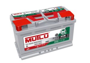Mutlu AGM 115 Mutlu AGM Car Battery 80ah 800cca