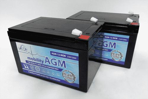 Leoch 12ah mobility battery