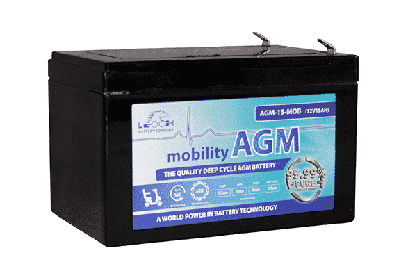 Leoch 15ah mobility battery