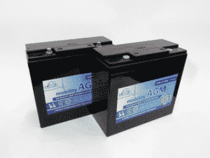 Leoch Leoch 12v 22ah Mobility Battery Twin Pack