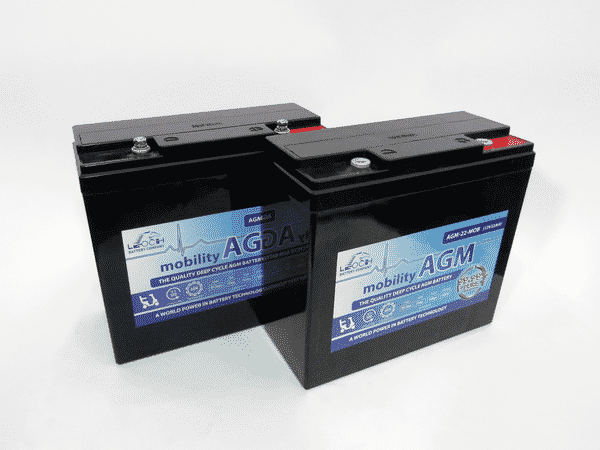 Leoch 22ah mobility battery